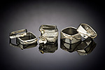 Gold & Silver Rings by Chi Cheng Lee