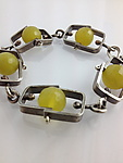 Silver & Stone Bracelet by Erica Stankwytch Bailey