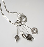 Silver Necklace by Caroline Viene