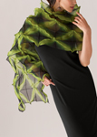Silk Shibori Wrap by Amy Nguyen