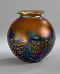 Art Glass Vase by Carl Radke