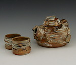 Ceramic Tea Set by Lenore Lampi