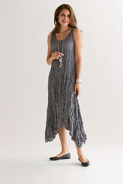 Evolution Silk Tank Dress - Silk Dress - by Amy Brill