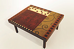 Mixed Media Coffee Table by Lara Moore