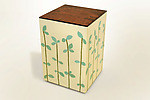 Mixed Media Side Table by Lara Moore