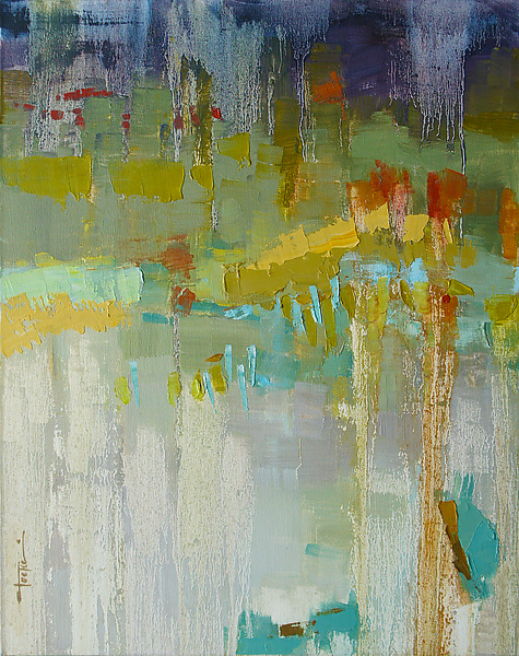Texture 11 - Oil Painting - by Cathy Locke