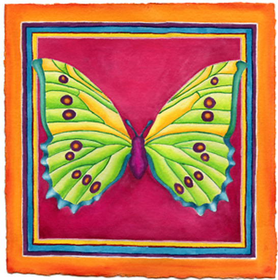 Butterfly No. 7 - Giclee Print - by Rachel Tribble