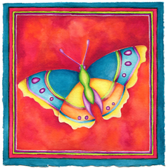 Butterfly No. 9 - Giclee Print - by Rachel Tribble