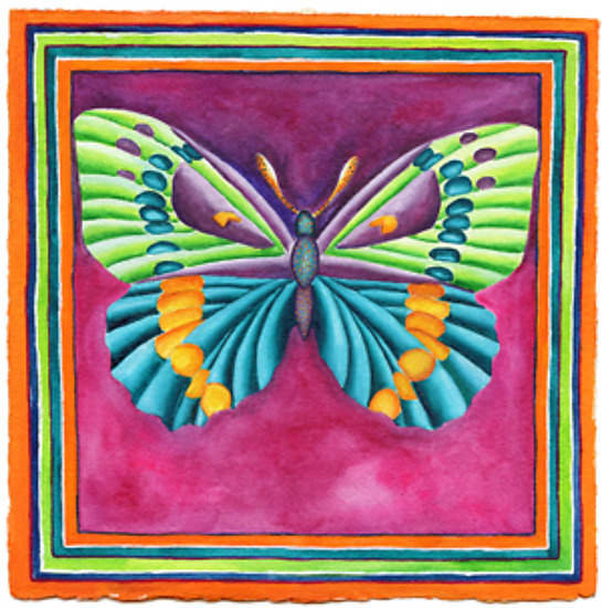 Butterfly No. 4 - Giclee Print - by Rachel Tribble