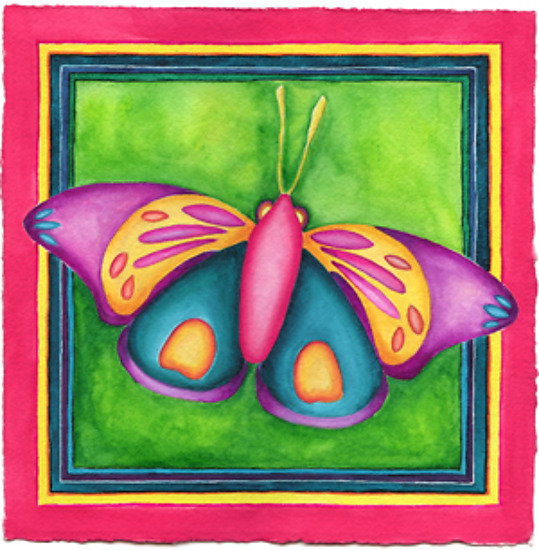 Butterfly No. 11 - Giclee Print - by Rachel Tribble