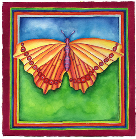 Butterfly No. 12 - Giclee Print - by Rachel Tribble
