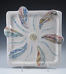 Ceramic Plate by Carol Barclay