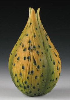 Bulb Vase 3 - Ceramic Vase - by Andy Rogers