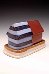 Ceramic Butter Dish by Brian Jones