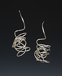 Silver Earrings by Rina S. Young