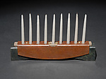Metal Menorah by David M Bowman