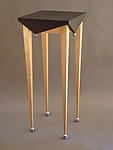 Wood Hall Table by Tim Wells