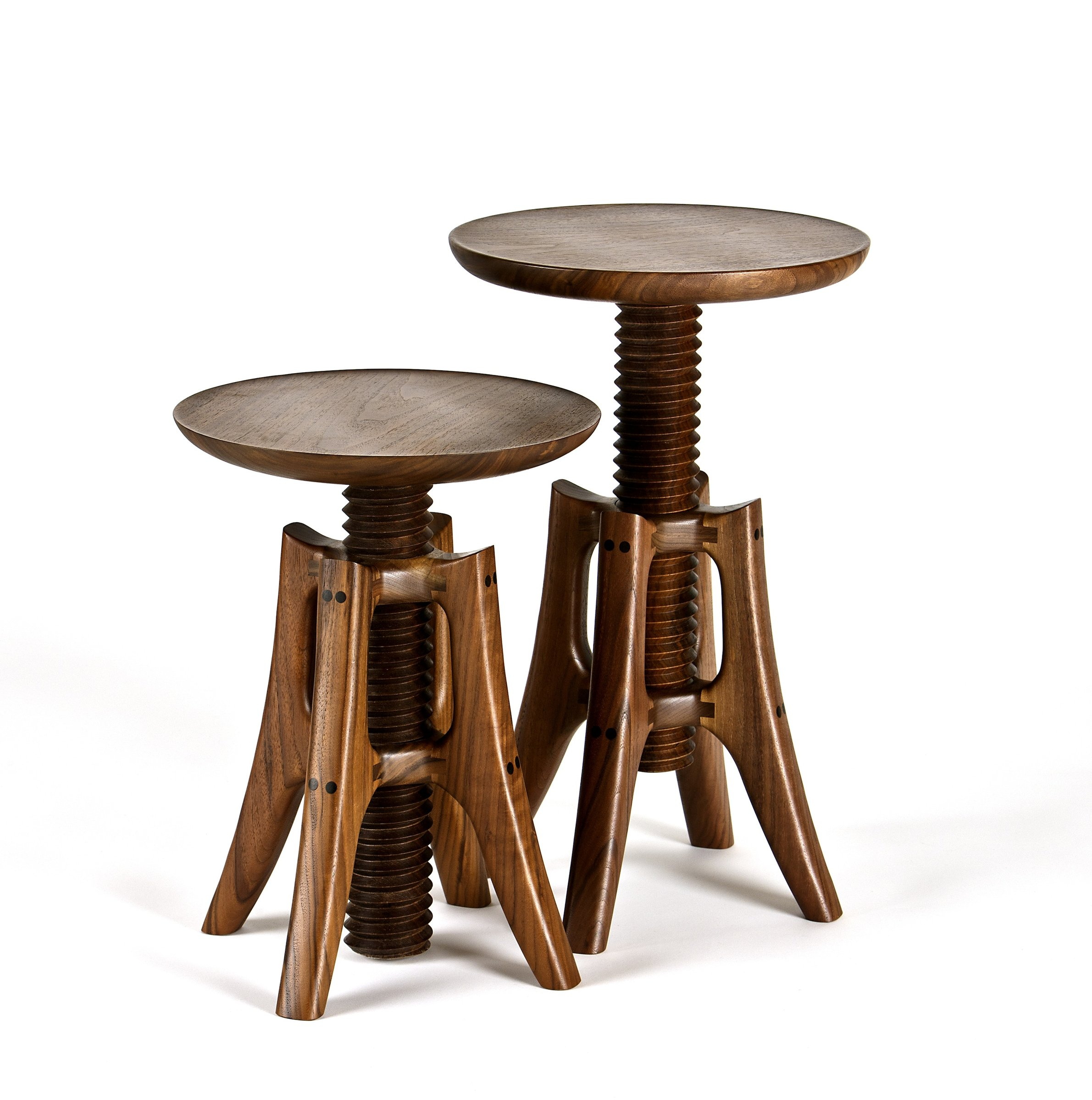 Piano Stool By James Pearce Wood Stool Artful Home