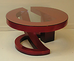 Wood Coffee Table by John Wilbar