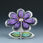 Silver Brooch by Deb Karash