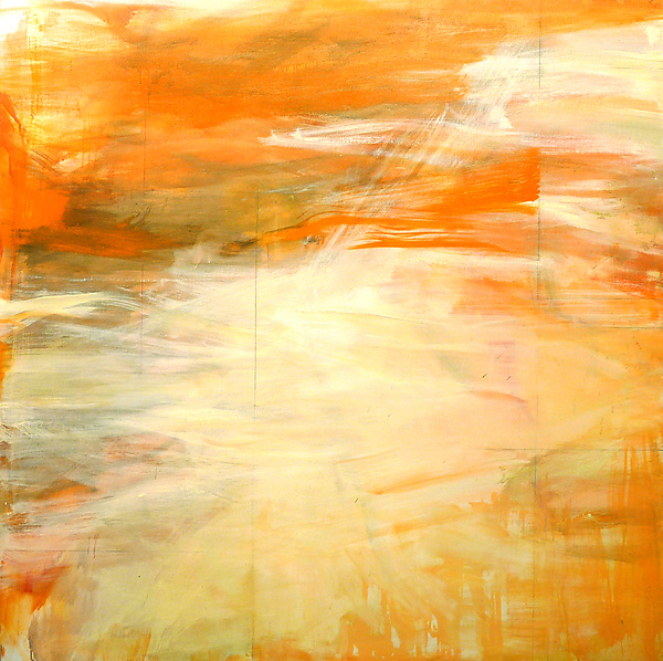 Forward Orange - Oil Painting - by Robin Feld