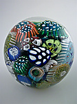 Art Glass Paperweight by Michael Egan