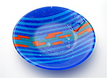 Art Glass Platter by Sabine  Snykers