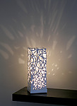 Ceramic Table Lamp by Muhammad Moussa
