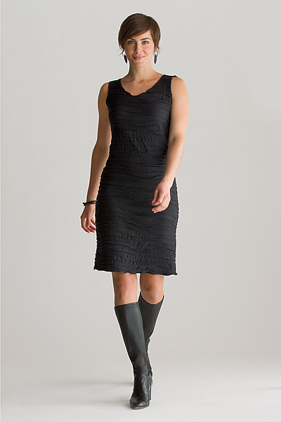 Fiore Basic Tank Dress - Knit Dress - by Carol Turner