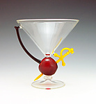 Art Glass Stemware by Garrett Keisling
