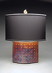 Ceramic Table Lamp by Mary Obodzinski