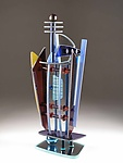 Art Glass Sculpture by George Ponzini