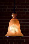 Art Glass Pendant Lamp by Kenny Pieper