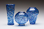 Art Glass Vase by Kenny Pieper
