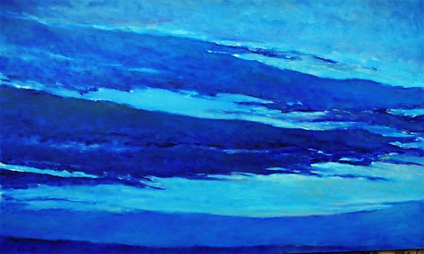 Blue Skyscape - Giclee Print - by Ken Elliott