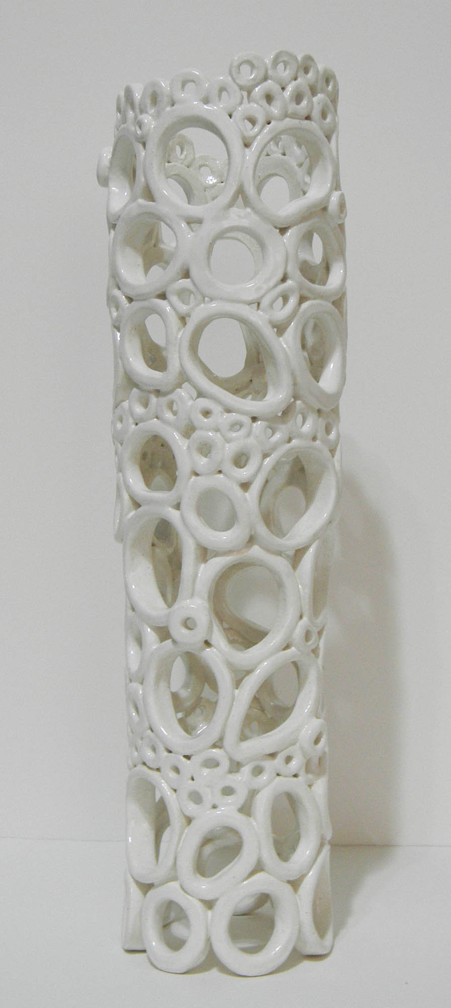 Ceramic Light - Ceramic Table Lamp - by Regina Farrell