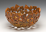Metal Bowl by Susan Madacsi