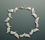 Silver Bracelet by Ellen Vontillius