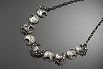 Silver & Pearl Necklace by Sooyoung Kim