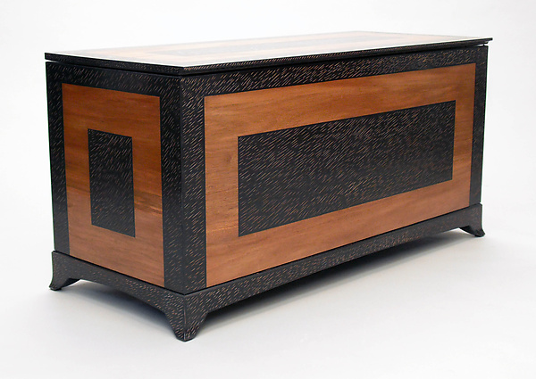 Blanket Chest - Wood Chest - by Cosmo Barbaro