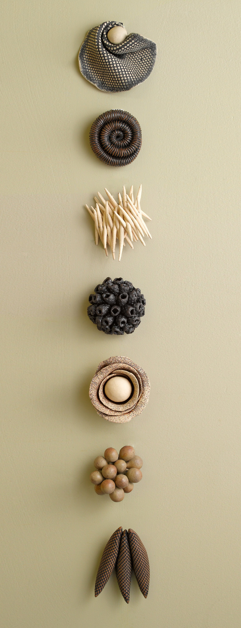 Ceramic Artifacts - Ceramic Wall Art - by Kelly Jean Ohl