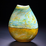 Art Glass Vase by John & Heather  Fields