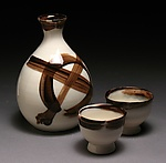 Ceramic Sake Set by Steve Murphy