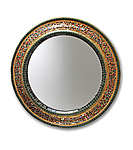 Mosaic Mirror by Nancy Pollock