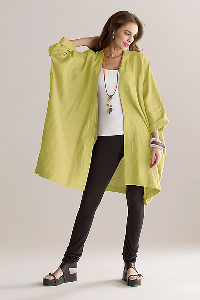 Kimono Jacket - Linen Jacket - by Planet Clothing