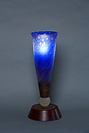 Art Glass Table Lamp by Rick Melby