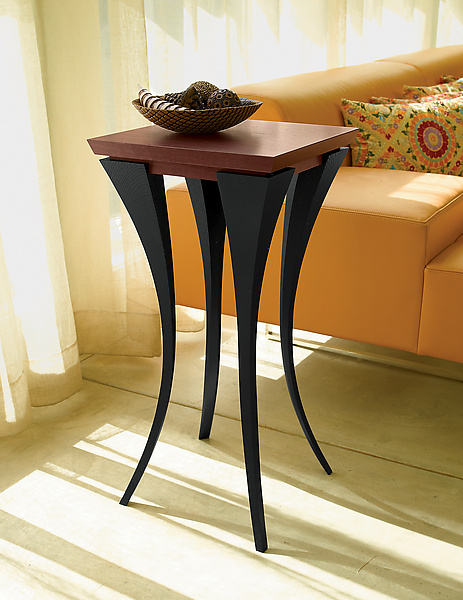 The Violet Table - Wood Side Table - by Michael McCoy