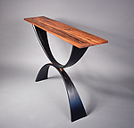 Wood Console Table by Michael McCoy