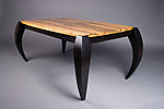 Wood Coffee Table by Michael McCoy