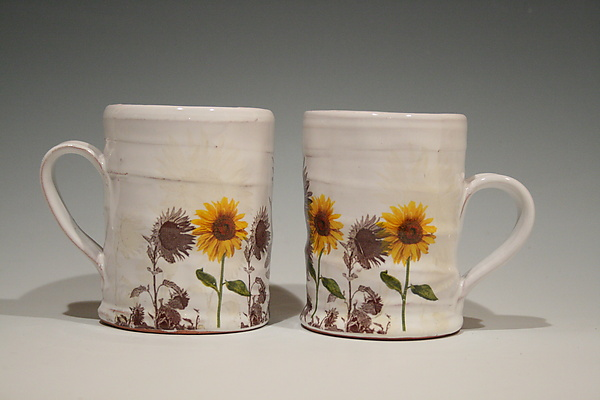 Sunflower Mug - Ceramic Mug - by Justin Rothshank